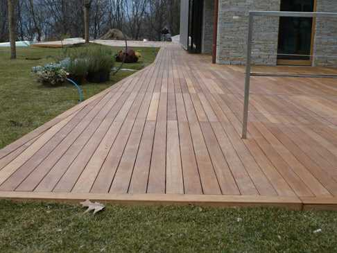 Pavimenti in legno d m strutture in legno foggia - Pavimento per esterno giardino ...